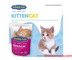 Buy Dry, Wet Cat Food Online at Best Price | Winner Plus India
