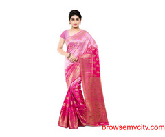 Boveee -The Best Place To Buy Blended Saree Online