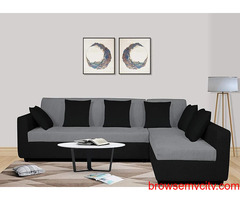 Make your home luxurious with a 6 seater sofa set.
