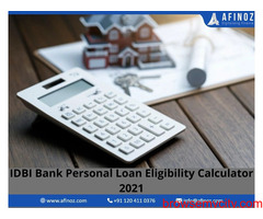 IDBI Bank Instant Personal Loan Eligibility Calculator Tool 2021