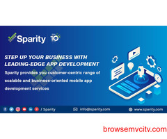 Top App Developers In USA|Mobile Application Development Companies|Sparity