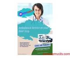 Medilift Ambulance Service in Gaya, Bihar- Non-stop 24/7 Services