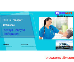 Medilift Ambulance Service in Darbhanga, Bihar- Bed-to bed Transfer