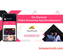 Upgrade Your Presence In The Online Business With Our On-demand Video Streaming App Solution