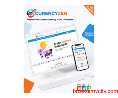 Currencyzen – Premium Crypto Currency Website Template