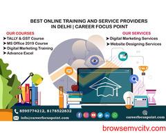Top Website Designing Company in Delhi| Career Focus Point