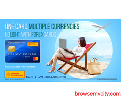 Cashless transactions at abroad with Orient Exchange Forex cards