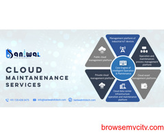 Cloud Maintenance Services in India | Baniwal Infotech