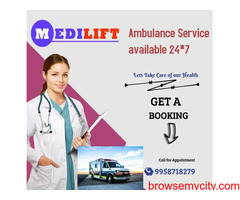 Medilift Ambulance Service in Purnia, Bihar – Hassel free