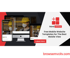 Best Mobile App for Free HTML Templates