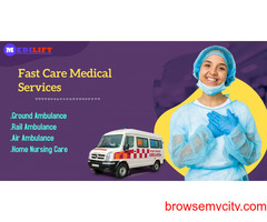Optimum Ambulance Service in Sitamarhi, Bihar- Medilift