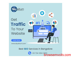 Grow your Organic Traffic & sales | Best SEO services in Bangalore.