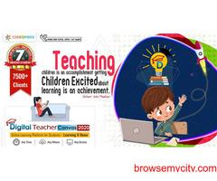 Smart class content enhances studies of digital toddlers