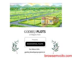 Coming Soon Residential Plots in Talegaon Pune by Godrej Properties