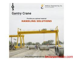 Gantry Crane Manufacturer in India