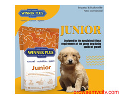 Buy Dog Food Online For Adults & Puppies - Winner Plus India