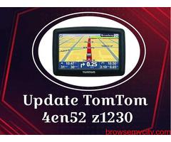 Instructions for GPS Update TomTom 4en52 z1230