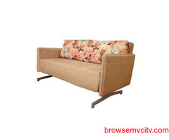 Want to buy the best Double Sofa Cum Bed? Woodage sofa cum bed (8882043740)