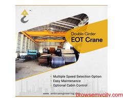 Heavy Duty Double Girder EOT Crane Manufacturer