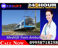 Get Critical Patient Transport by Medilift Train Ambulance in Bangalore