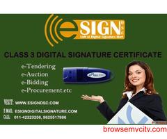 Digital Signature Agency & Service Providers in India