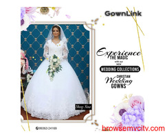 Best Christian Wedding Gowns | Christian Wedding Gowns in India Online | Gownlink