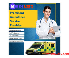 Medilift Ambulance Service in Patel Nagar, Patna- 24*7 Service