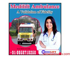 Quality Care Ambulance Service in Adarsh Nagar, Ranchi- Medilift