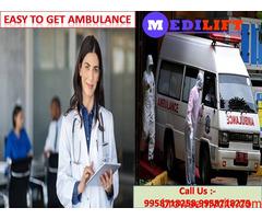 Choose Best Road Ambulance Service in Bahu Bazaar- Medilift