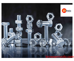 Flange Nut and bolt Manufacturers in India - Bhalla Fasteners