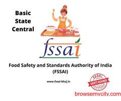 Fssai license consultant in Bhuj