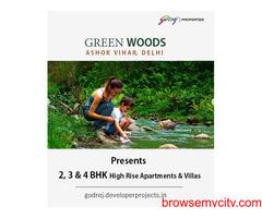 Godrej Green Woods at Ashok Vihar, Delhi - Individuals prefer this address for living