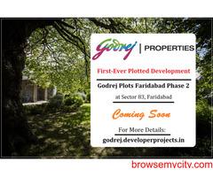 Godrej Retreat Phase 2 Faridabad | Upcoming Plotted development At Sector 83