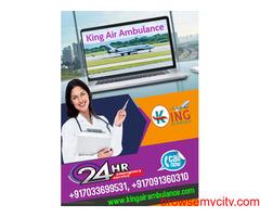 Hire King Air Ambulance Service in Delhi-ICU Setup at Budget-Friendly