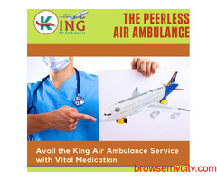 Avail the King Air Ambulance Service in Hyderabad for Safe Repatriation