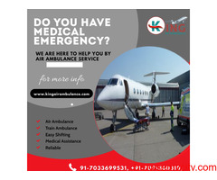King Air Ambulance Service in Jaipur for Fastest Commutation of Your Patient