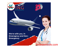 For Safest Air Ambulance Service in Vellore Avail the King with Medication