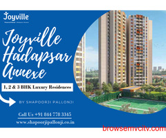Shapoorji Hadapsar Annexe Manjari | 1, 2, & 3 BHK Luxury Residences In Pune