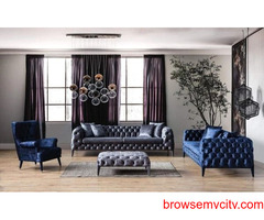 Chesterfield Sofa Set Online| L Shaped Chesterfield Sofa Set | Furniture Online