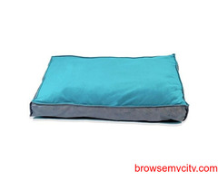 Buy Dog Bed Velvet and Suede, Rectangular Shaped (S) at Best Prices in India