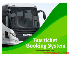 Bus Ticket Booking Software | Bus Ticketing System