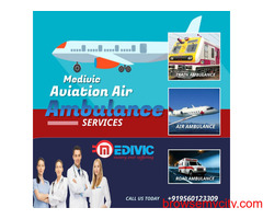 Highly Secure ICU & Charter Air Ambulance Service in Varanasi by Medivic