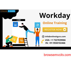 Workday online training in india | workday training