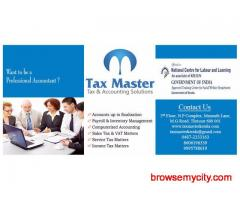 Sales tax practitioner course in Thrissur, Kerala - TAX MASTER - 0487-2333163 (THRISSUR)