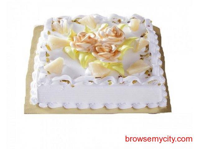 Same Day Birthday Cake Delivery In Bhilai Through SendBestGift
