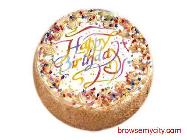 Same Day Birthday Cake Delivery In Calcutta Through SendBestGift