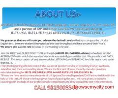 ielts life skills esol examination centre in chandigarh