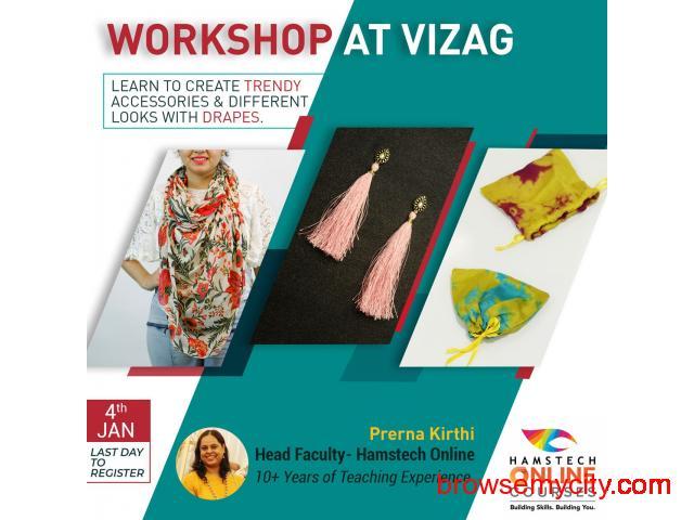 Free Fashion Design Workshop At Vizag Hamstech Online Courses 47194