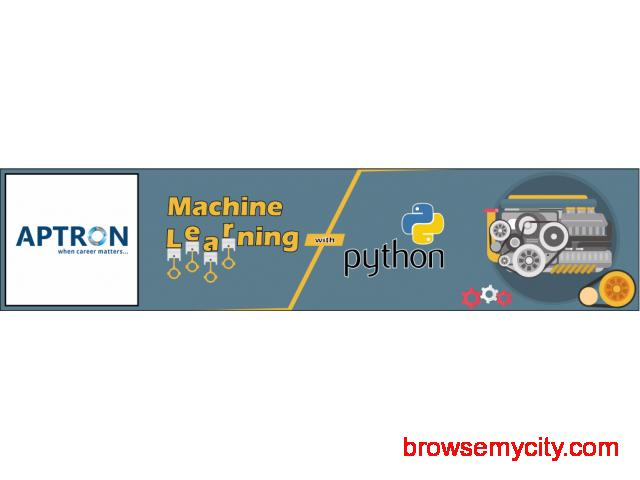 Machine Learning with Python Training Course in Delhi - 55039
