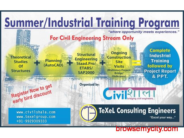summer training for civil engineering students - 5764
